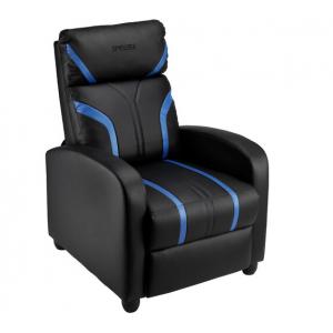 Spieltek RL Gaming Recliner (Black/Blue)
