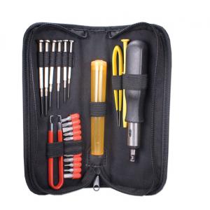 QVS 23-Piece Computer Maintenance Tool Kit with Precision Screwdrivers