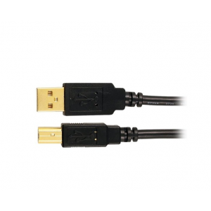 Axis - 6' USB Type A-to-USB Type B Cable - Black