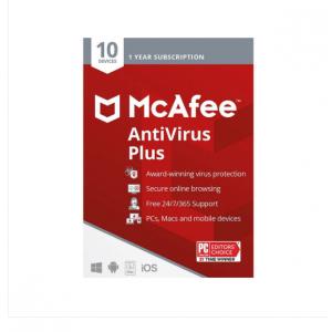 McAfee AntiVirus Plus 10 Device