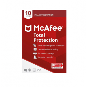 McAfee Total Protection 10