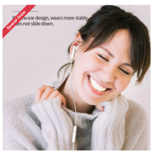 Wholesale Type-C / USB-C HD Music and Voice Earphone Headset for Android Phone with NO 3.5mm
