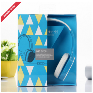 Wholesale High Quality Stereo Headphone with Mic TV09