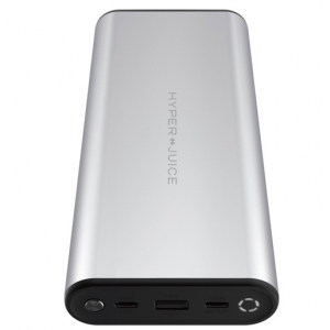 HYPER 27,000mAh HyperJuice USB Type-C Power Delivery 3.0 Battery (Silver)