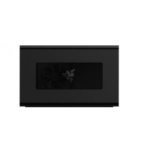 Razer - Core X Thunderbolt 3 External GPU Graphics Enclosure - MacOS and Windows 10 Compatible - Black