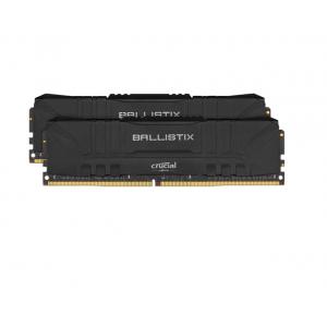 Crucial 16GB Ballistix DDR4 3200 MHz UDIMM Gaming Desktop Memory Kit (2 x 8GB, Black)