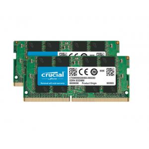 Crucial 32GB Laptop DDR4 2666 MHz SODIMM Memory Kit (2 x 16GB)