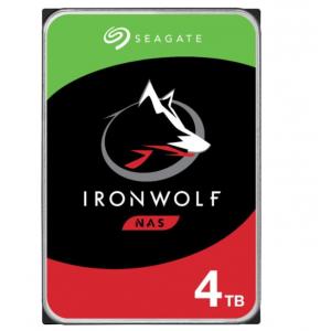Seagate - IronWolf 4TB Internal SATA Hard Drive for Desktops