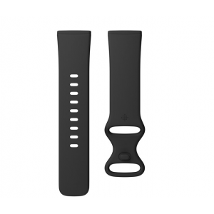 Fitbit Infinity Band for Sense & Versa 3 Smartwatches (Small, Black)