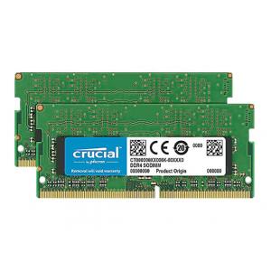 Crucial - DDR4 - kit - 8 GB: 2 x 4 GB - SO-DIMM 260-pin - 2666 MHz / PC4-21