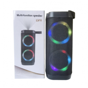 Wholesale Outdoor and Indoor LED Light Portable Wireless Speaker with rich HD sound quality