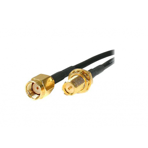 StarTech.com 10 ft RP-SMA to RP-SMA Wireless Antenna Adapter Cable
