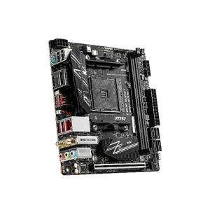 MSI B450I GAMING PLUS MAX WIFI - motherboard - mini ITX - Socket AM4 - AMD