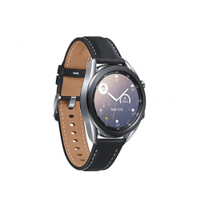 Samsung Galaxy Watch 3 - mystic silver - smart watch with band - 8 GB