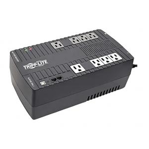 Tripp Lite UPS Desktop 550VA 300W Line-Interactive Battery Back Up AVR RJ11