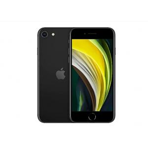Apple iPhone SE (2nd generation) - black - 4G - 64 GB - CDMA / GSM - smartp