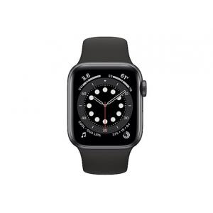 Apple Watch Series 6 (GPS + Cellular) - space gray aluminum - smart watch w