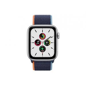 Apple Watch SE (GPS + Cellular) - silver aluminum - smart watch with sport