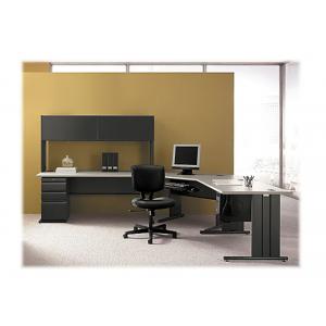 HON Volt H5701 - chair - plastic, SofThread leather - black