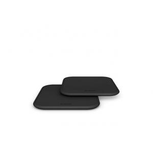 ZENS - Single Wireless 10W Battery Charger TWIN PACK - Black