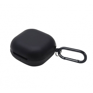 SaharaCase - Silicone Case for Samsung Galaxy Buds Live and Galaxy Buds Pro - Black