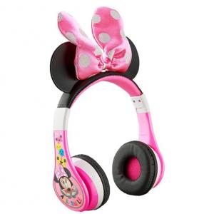 KIDdesigns - Minnie Mouse Bluetooth Wireless Headphones - pink
