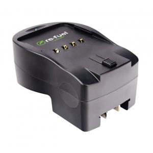 Digipower - DSLR Travel Charger For Nikon Replacement Batteries (EN-EL14/EL15) - Black