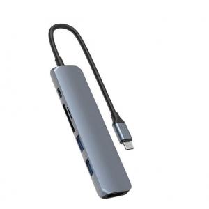 HyperDrive - BAR 6-in-1 USB-C Hub - Gray