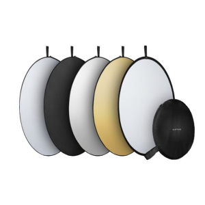 """Platinum™ - 5-in-1 42"""" Collapsible Light Reflector"""