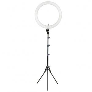 """Sunpak - LED 448 19"""" Bi-Color Ring Light Kit - Black"""