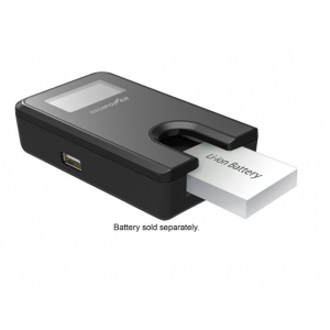 Digipower - Digital Camera Travel Charger for Canon Batteries (NB4L, NB6L, NB11L) - Black