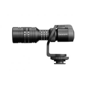 Saramonic On-Camera Mini Shotgun Mic for DSLR, Mirrorless, Video, Smartphones & Tablets (Vmic Mini)