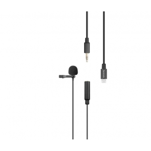 Saramonic Lavalier Microphone with Lightning for Apple iPhone, or iPad w/ a Built-in 6.6-foot (2m) Cable (LavMicro U1A)