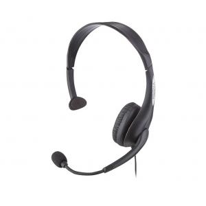 Insignia™ - On-Ear Analog Mono Headset - Black
