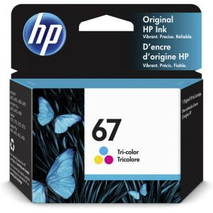 HP 67 Tri-Color Ink Cartridge for Select ENVY Printers