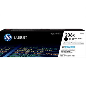 HP 206X High-Yield Black LaserJet Toner Cartridge