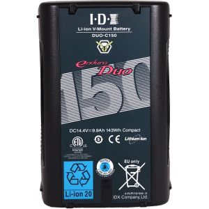 IDX System Technology 2x DUO-150 V-Mount Batteries