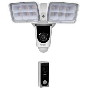 Lorex V261LCD-E 1080p Outdoor Wi-Fi Floodlight Camera