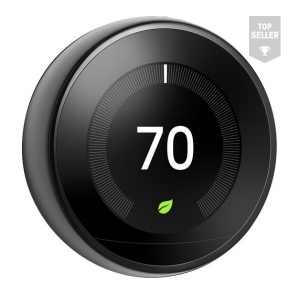 Google Nest Learning Thermostat (3rd Generation, Brass)