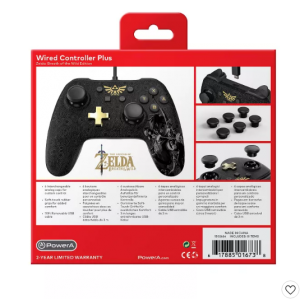 PowerA Wired Controller Plus for Nintendo Switch