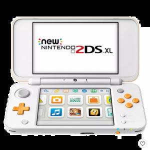 Nintendo 2DS XL with Mario Kart 7 - Orange/White