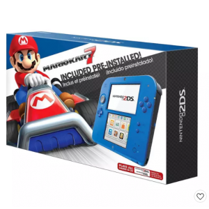 Nintendo 2DS Bundle with Mario Kart 7 - Electric Blue