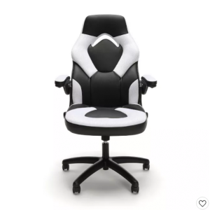 Adjustable Leather/Mesh Gaming/Office Chair with Wheelss - OFM