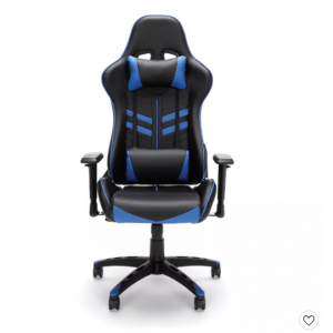 Racing Style Adjustable Gamings Chair with Lumbar Support - OFM