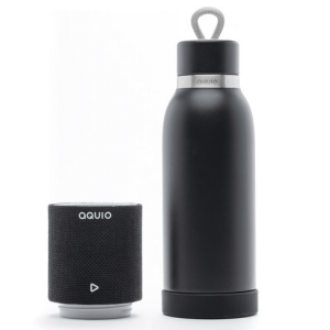 iHome Aquio 16oz Bottle with Bluetooth Waterproof