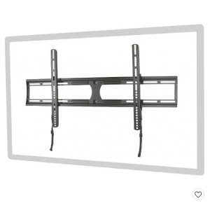 """Extra Large Low Profile Wall Mount for 37-60"""" TVs - Black"""