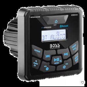 Boss Gauge Marine Bluetooth MP3 Radio Stereo Boat Audio