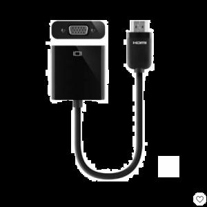 Belkin HDMI to VGA + 3.5mm Audio Adapter, HDMI-M/VGA-F