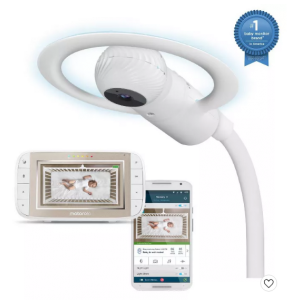 Motorola Halo+ Over-The-Crib Wi-Fi Baby Monitor & Soother