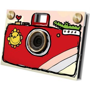 Paper Shoot Hand Drawing Camera (Red)